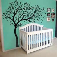 Nova Enorme Árvore Decalques Da Parede Do Berçário Mural Decoração da Parede das Crianças Adesivo Vinilo Muraux Adesivos de Parede para Quartos de Crianças Em Casa decoração
