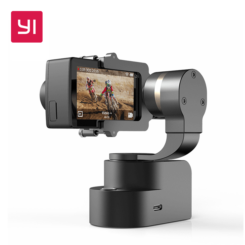 YI Handheld Gimbal 3 eje estabilizador para YI Lite, 4 K, 4 K + y otras cámaras de acción (cardán solamente)