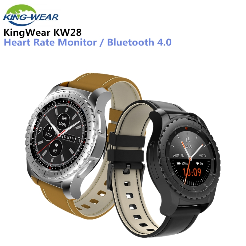 KingWear KW28 Smartwatch Phone 1.3 inch Bluetooth 240x240 Smart Watch Sedentary Reminder Heart Rate Monitor Anti-lostKingWear KW28 Smartwatch Phone 1.3 inch Bluetooth 240x240 Smart Watch Sedentary Reminder Heart Rate Monitor Anti-lost