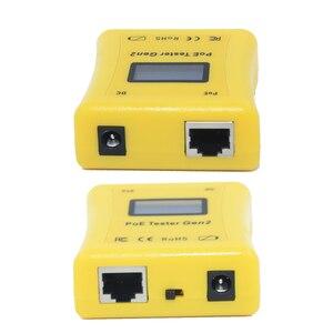 Image 3 - לזהות PoE סוג PoE Tester תצוגת מראה וולט, אמפר וואט עבור 802.3af/at, פסיבי PoE ו DC אספקת חשמל + PoE גלאי
