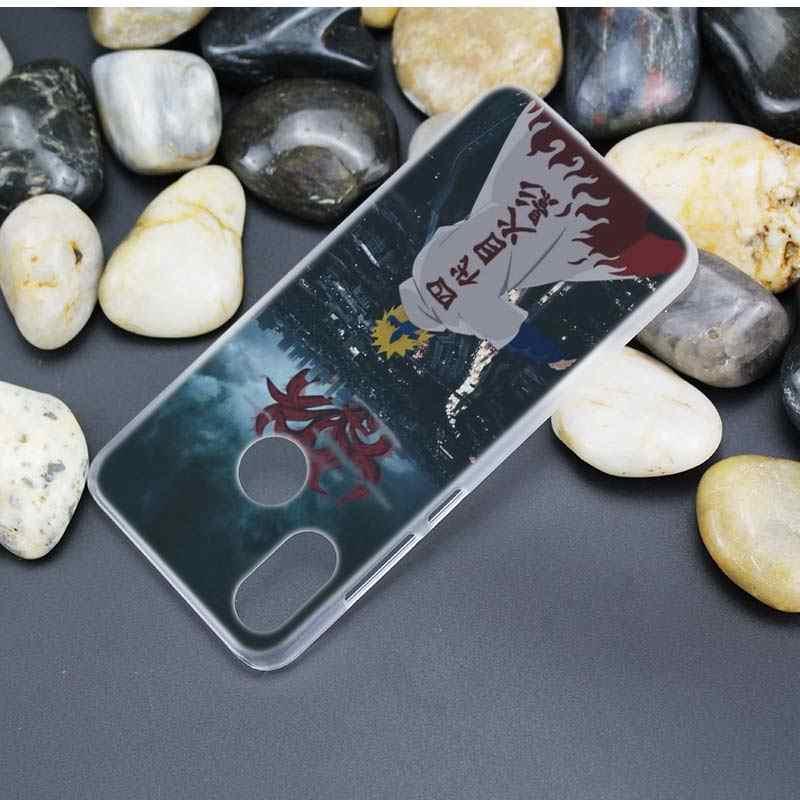 אנימה מקרה עבור Xiaomi Redmi הערה 8T 8 9S 9 7 10X 5G K30 פרו זום ברור קשה כיסוי מעטפת נארוטו Haruno סאקורה Fundas קאפה