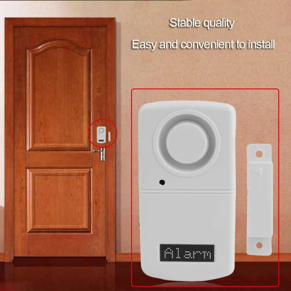 Alarm Sensor เครื่องตรวจจับมากกว่า 120dB เสียงปลุกประตูแม่เหล็ก Alarm Home Sensor Detector