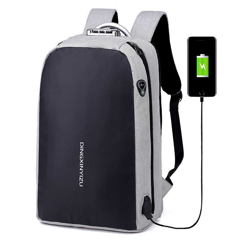 Laptop Backpack USB Charging Anti Theft Backpack Men Travel Large Capacity Backpacks Waterproof School Bag Male Student Mochila