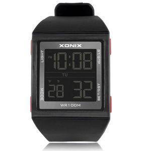 Image 2 - חדש אופנה עסקים דיגיטלי תכליתי LED Waterproof אלקטרוני שעונים ספורט גברים חיצוני שחייה GM