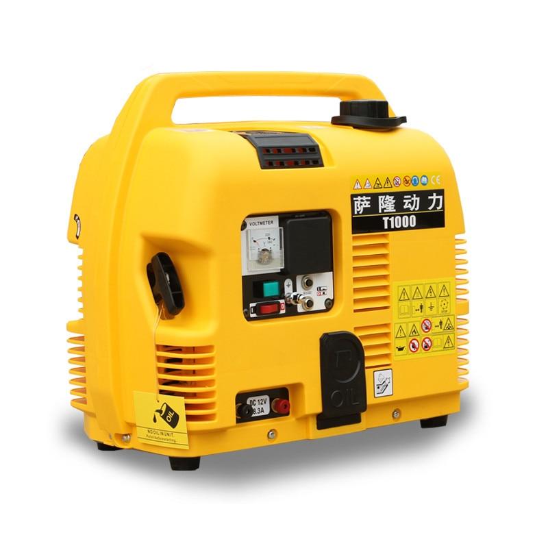 2018 800 Вт новая модель легкий инвертор генератор, 220 В AC Портативный генератор для кемпинга, открытый генератор для пикника, SL 1000IS