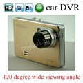 free shipping hot car DVR auto camera full HD video recorder registrator 120 degree wide viewig angle 2.7 inch LCD screen