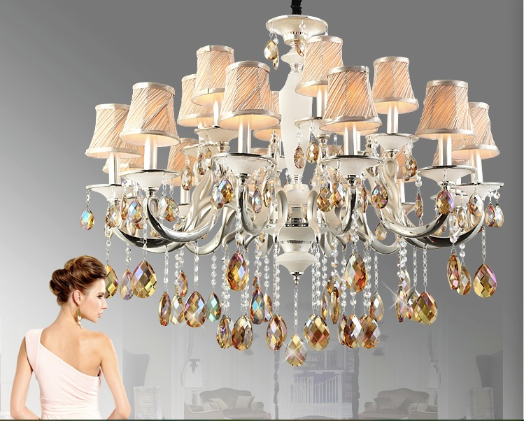 Free Shipping Modern Silver Champagne Crystal Pendant Lamp Ceiling Lamp Chandelier Dining Room Lighting  AC 100% Guaranteed free shipping high quality modern crystal ceiling lamp golden crystal ceiling lighting sy4062 4l d500mm ac 100