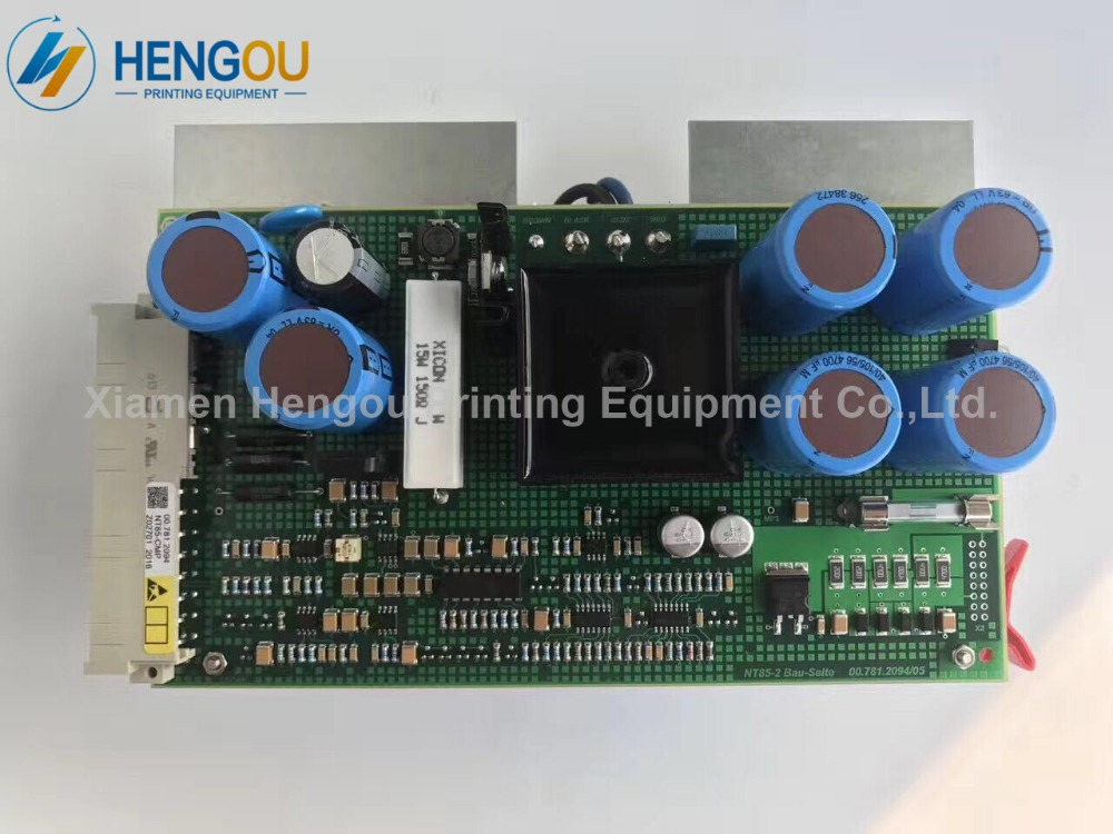 Heidelberg SM52 SM74 Power supply board NTK NT85-2 00.781.2083 00.781.2094 Heidelberg spare parts 20pcs heidelberg sm52 pm52 o seal 00 580 4270 r 60x3mm paper suction spare parts