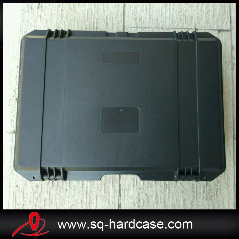 New arrival brief outward hard plastic waterproof tool case with full foam inserts