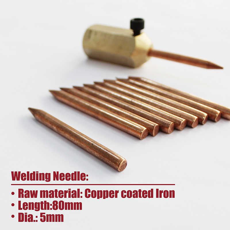 spot welding electrodes car spotter stud welder sheet metal shrinking Auto  bodywork shrink gun needle tips dent repair pulling