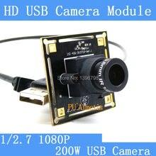 Surveillance camera 1080p Full Hd MJPEG 30fps High Speed CMOS OV2710 Mini CCTV Android Linux UVC Webcam USB Camera Module