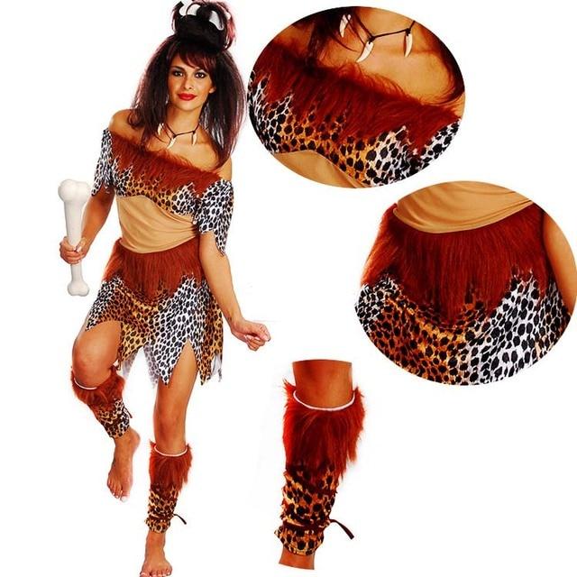 Disfraz de salvaje Original de hombre de las cavernas para adultos, disfraz de Wildman para niños, disfraz de Halloween Purim para Navidad