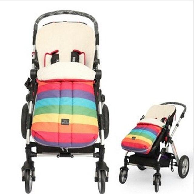 2016 Promoção Limitada Patchwork Unisex Crianças Sacos De Dormir Travesseiro Macio E Quente Saco Térmico Carrinho De Bebê Saco de Dormir de Inverno