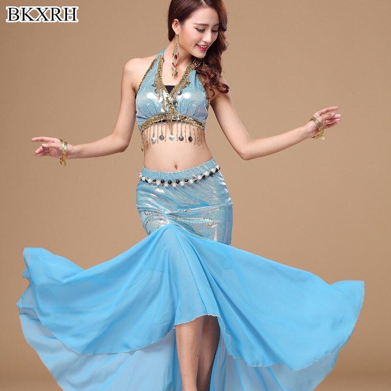 2pcs Set Egyption Egypt Belly Dance Costume Bollywood