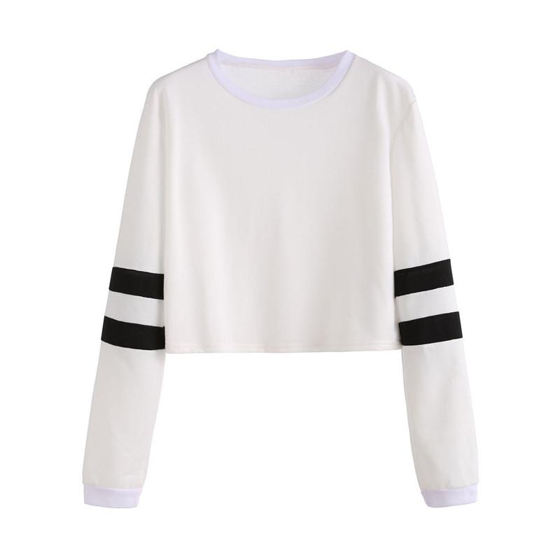HTB1ndeSNXXXXXadXVXXq6xXFXXXi - Round Neck Varsity Striped Long Sleeve Crop T-shirt PTC 101