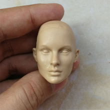 1/6 Natalie Portman Natalie Hershlag Unpainted Head for 12'' Female Body сандалии natalie