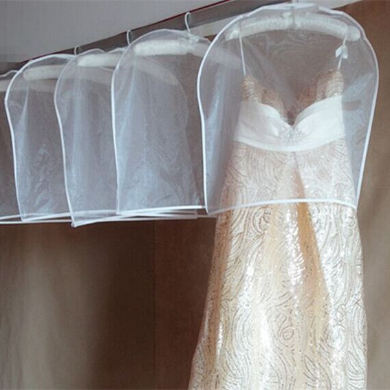 Size 8855cm Wedding Dress Bag Clothes Dustproof Cover Half Dust