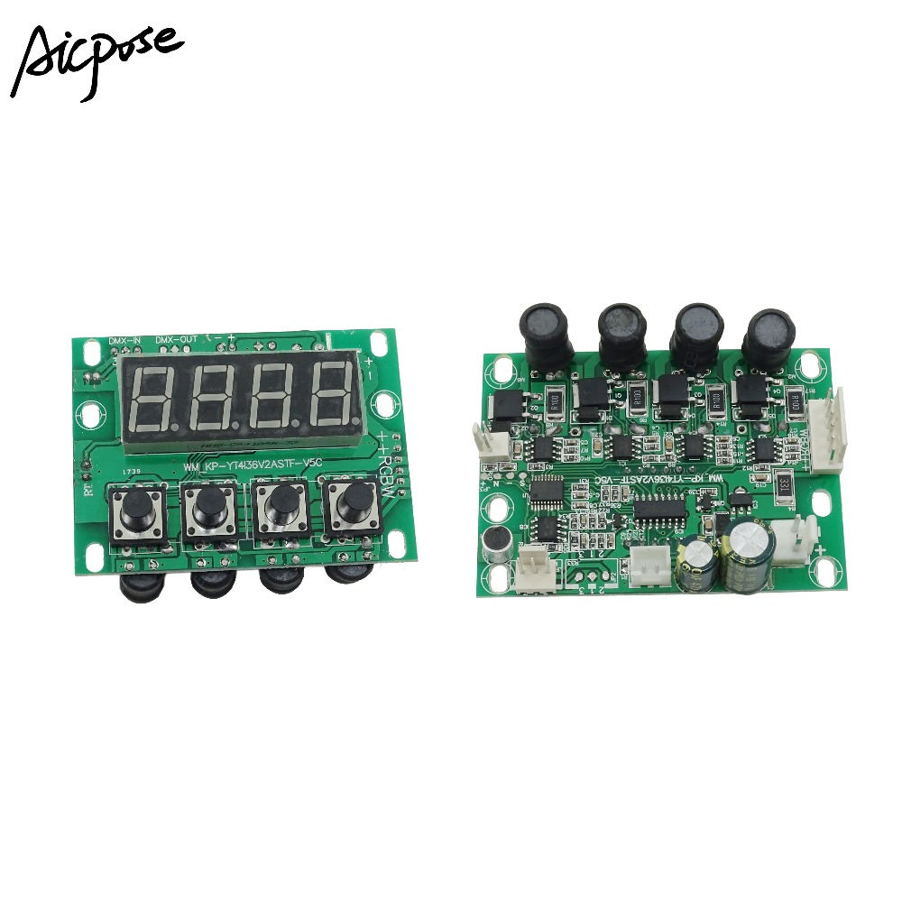 54x3w 18x12w 24x12w 12x12w LED PAR Motherboard Voltage 12-36V Par Led RGBW 4in1  4/8 Channel Constant Current Motherboard