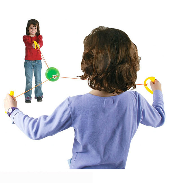 1pc lot jumbo speed ball spring toys team games birthday gift for