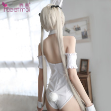 hot Sweet Bunny Girl Rabbit Costume Sexy Bunny Costume Corset Romper Bodysuit Halloween Cosplay Fancy Dress sexy costume