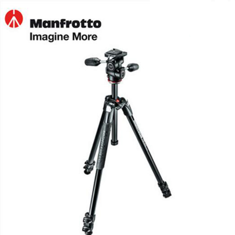 цены  Manfrotto MK290XTA3-3W Aluminum Tripod Kit Professional Tripod With Ball Head Portable Bracket Stable For Canon Nikon Sony SLR