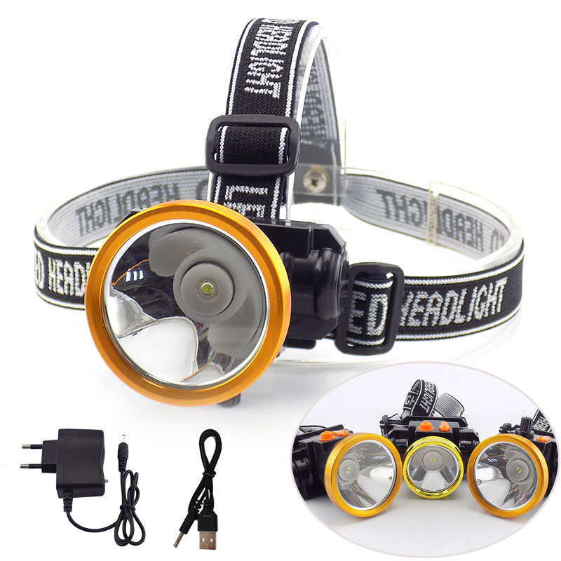 10W 20W 25W High Power LED Headlamp frontal Flashlight Rechargeable Headlight Battery Head Lamp Torch lights Camping Fishing цена