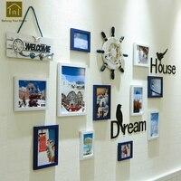 Европейская декоративная картина дом Персонализированная рамка настенные художественные украшения гостиной рамки для декора домашнего