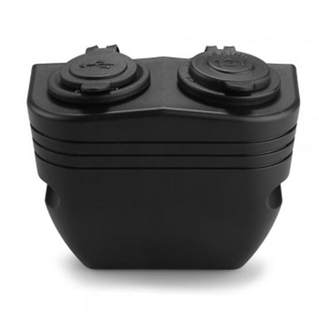 Dewtreetali Dual USB Auto Accendisigari in Automobile Divisore Dello Zoccolo del Caricatore Port 12 V