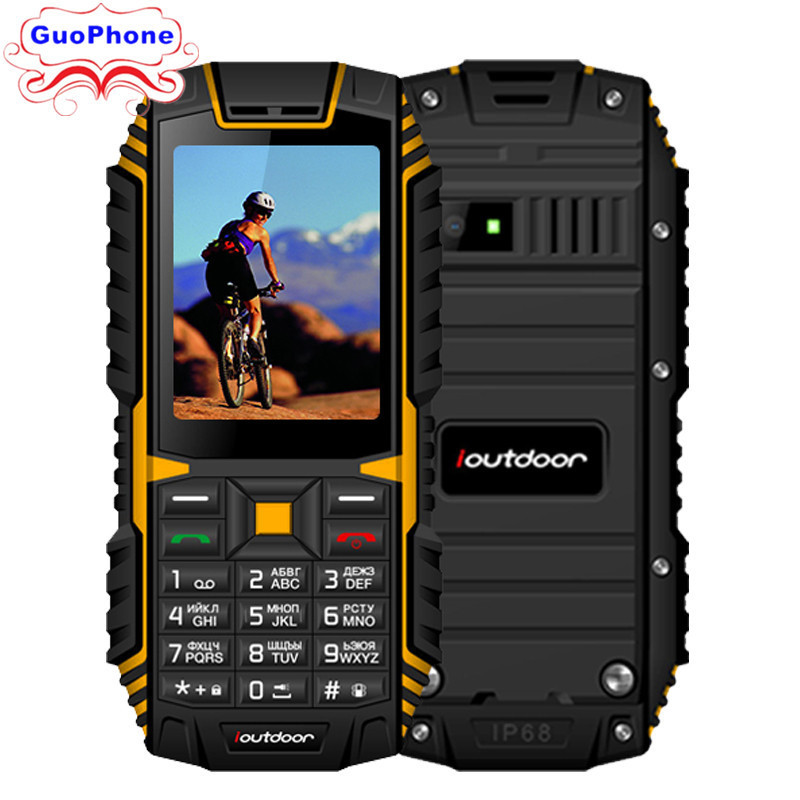 Ioutdoor T1 IP68 téléphone étanche 2.4