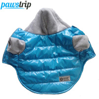 5 Colors Winter Pet Dog Jacket Coat Thickening Warm Puppy Dog Clothes With Hood Size 8