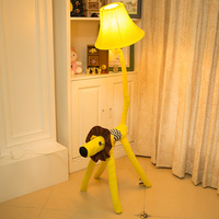 Оригинальный домашний интерьер ткань мультфильм лампа моды личности солнце собака лампа