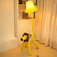 L'originale Arredamento Per La Casa del panno del fumetto personalità della moda lampada da sole cane lampada