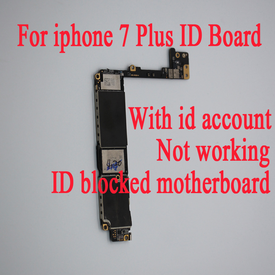 For iphone 7 7 plus have iCloud id lock motherboard 32gb