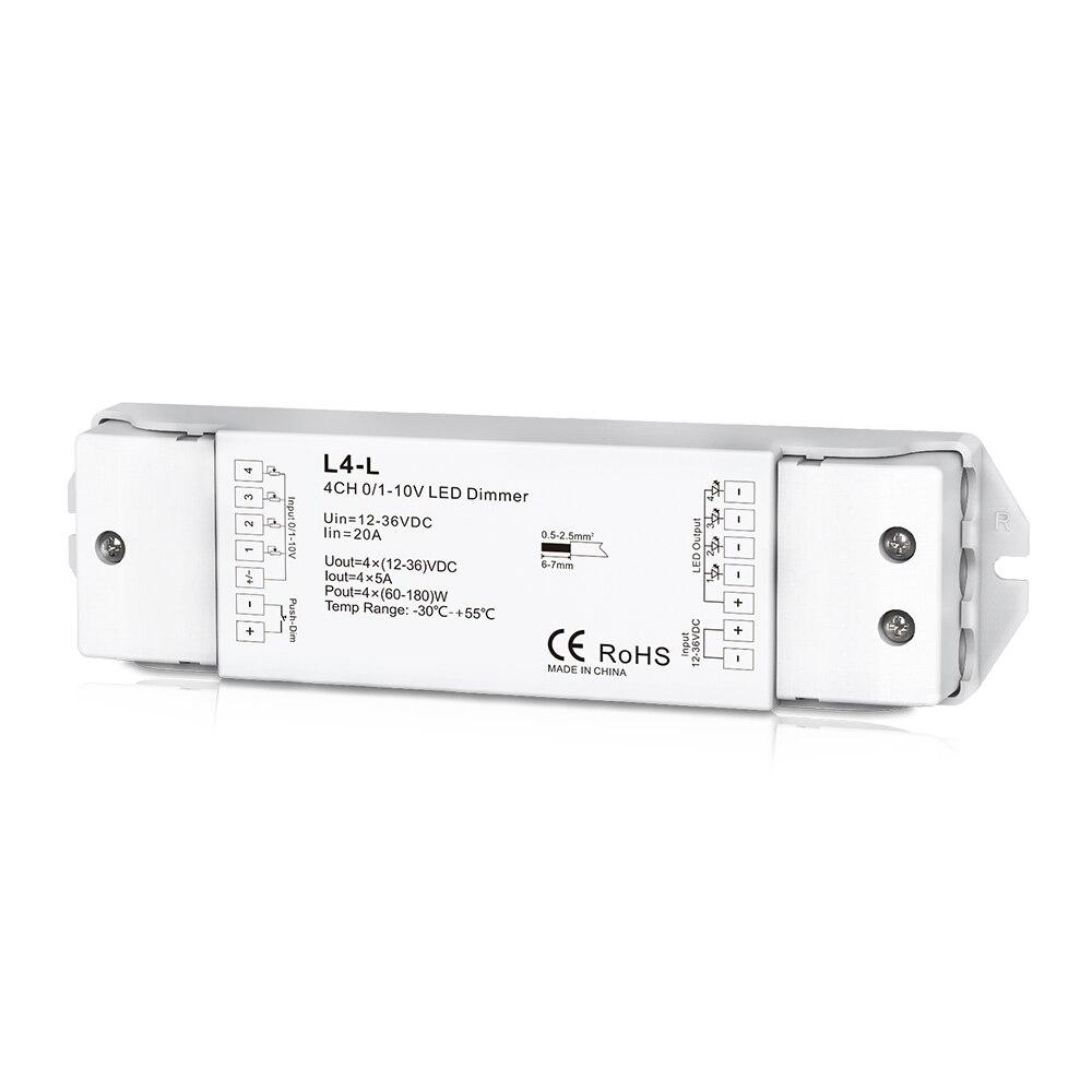 L4 L; 0/1 10V LED Dimming driver;4 channel 0/1 10V LED