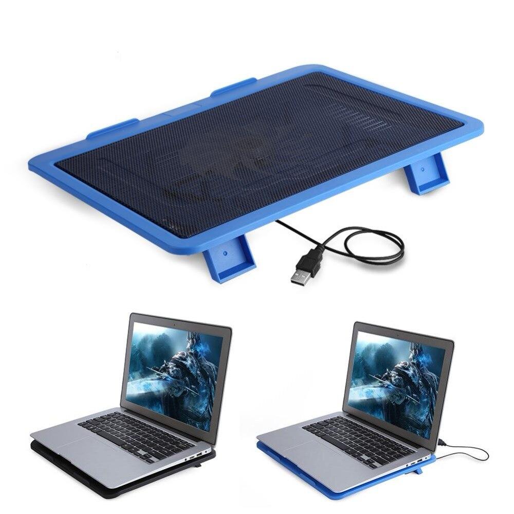 Universal Laptop Kühler Cooling Pad Basis Großer Fan USB Laptop Stehen für 14