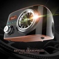 2017 I9 Grain Bluetooth Speakers High power Audio Subwoofer 4 Multi function Bluetooth Speakers Alarm Clocks
