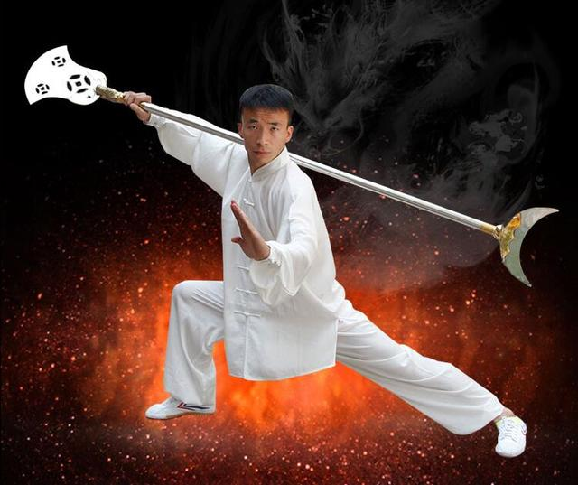 Traditional Wushu Monk Spade