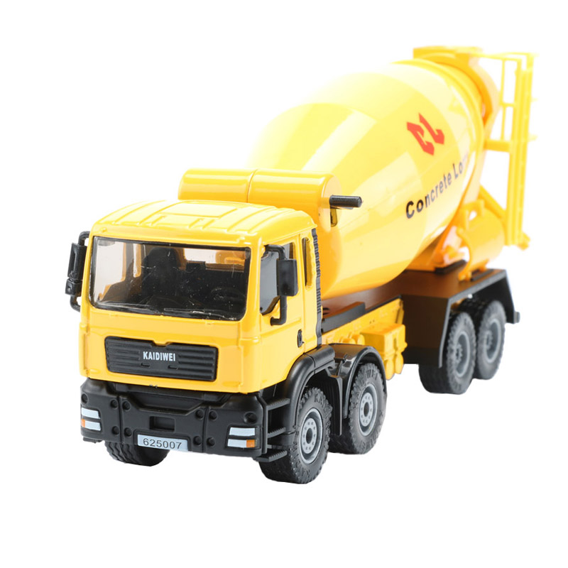 KAIDIWEI Concrete Lorry Diecast Metal Car Kids Toys For Collection 1:50 Alloy Mixer Truck Model Birthday Gifts Toy / Brinquedos