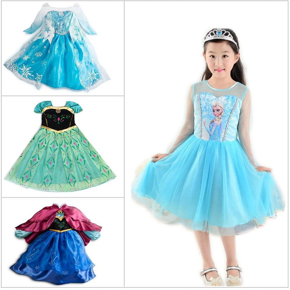 Popular Kids Fancy Elsa Dress-Buy Cheap Kids Fancy Elsa Dress lots ...