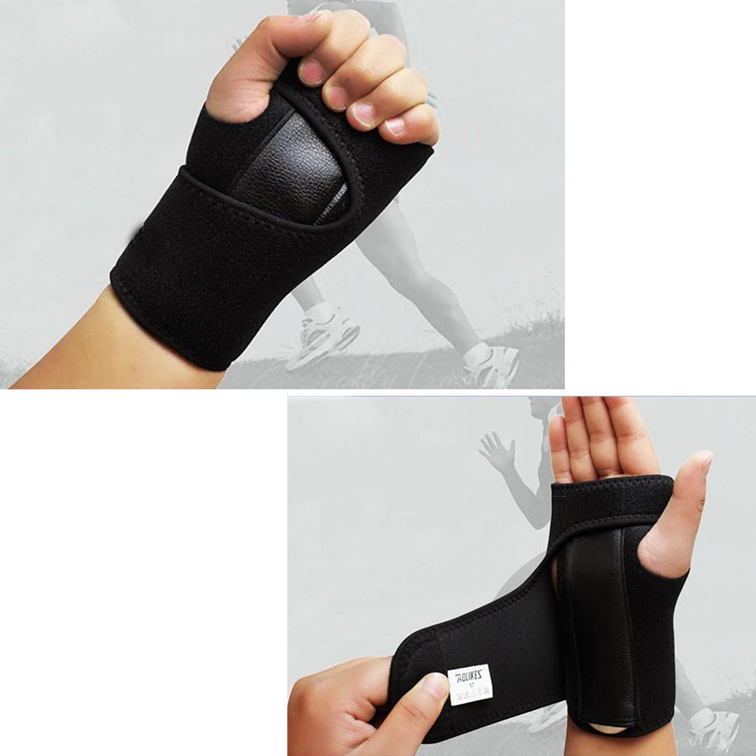 Wristband New Bandage Orthopedic Hand Brace Wrist Support Finger Splint Carpal Tunnel Syndrome