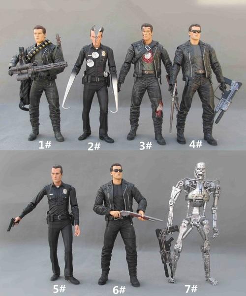 NECA Terminator 2 Action Figure T-800 Battle Across Time Arnold Action Figure