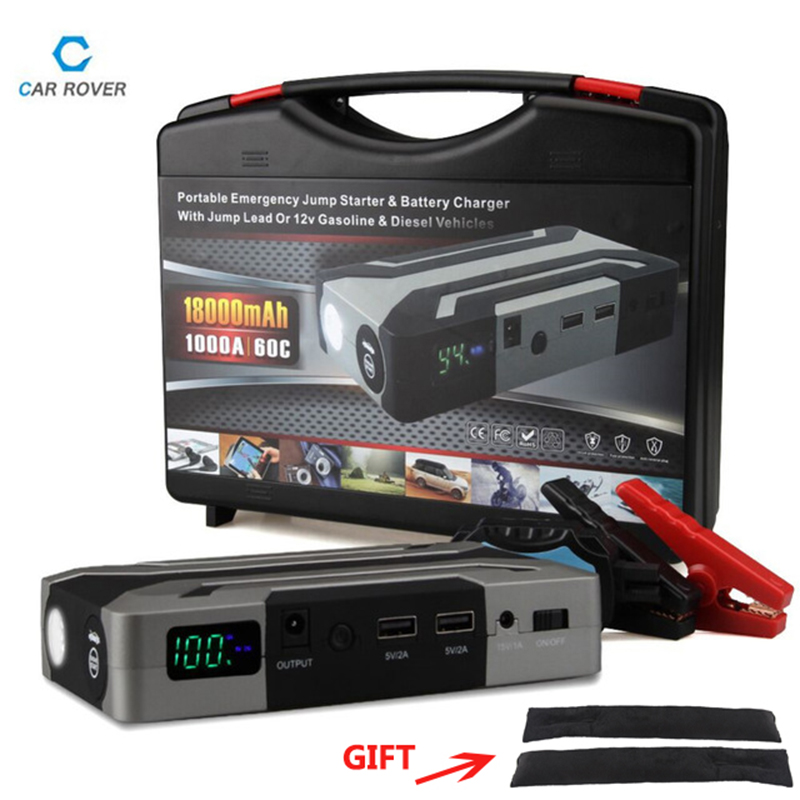 Jump Starter Car-Battery-Charger Diesel 6.0l Emergency-Auto-Power-Bank-Booster Peak Petrol-8.0l
