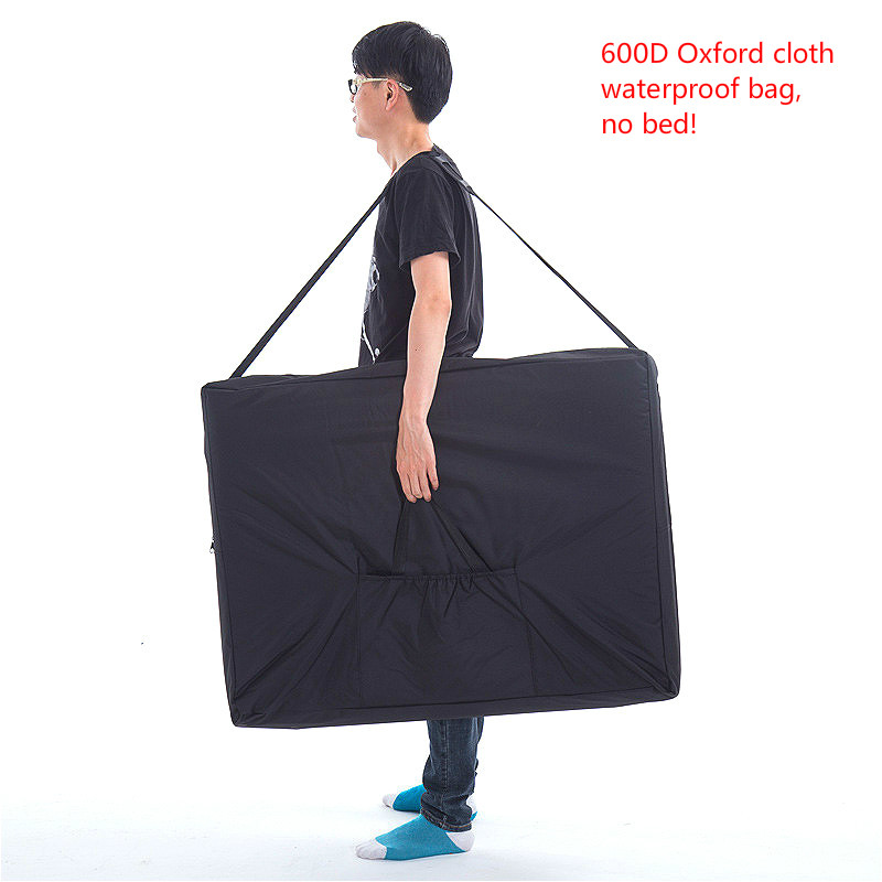 A, Folding carrying bag for massage bed  beauty bed accessories Sturdy 600D Oxford cloth waterproof backpack 93*73*17cm
