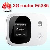 Разблокированный роутер Huawei E5336 3g mifi мобильный wi-fi-роутер точка доступа карманный мини 3g маршрутизатор wifi с слотом для sim-карты
