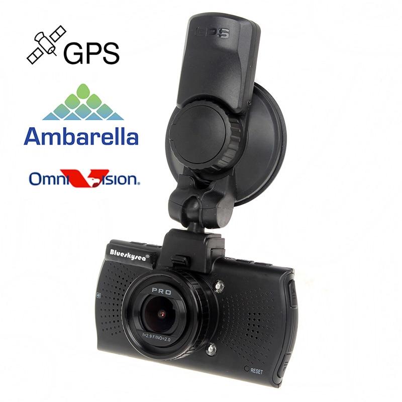 imágenes para Blueskysea A12 HD 1440 P de Ambarella 1296 P Tablero de Coches Cámara LDWS GPS Grabación de Vídeo Del Coche DVR ángulo de Visión de 170 grado