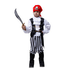 Boys Nordic Pirate Pirates Costumes for Kids Boy Halloween Purim Party Carnival Cosplay Dress Up