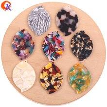 Cordial Design pour bijoux, 32x46mm, 50 pièces, accessoires pour fabrication de bijoux, forme ovale, acide acétique bijoux à bricoler soi même
