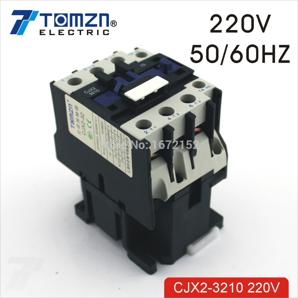 CJX2 3210 AC contacteur LC1 32A 220 V 50 HZ/60 HZ