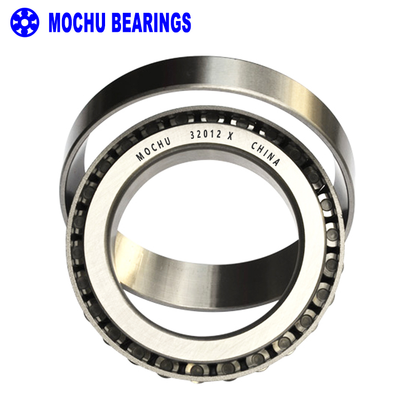 1pcs Bearing 32012 X 60x95x23 32012-X 32012X/Q 2007112 E Cone + Cup MOCHU High Quality Single Row Tapered Roller Bearings mochu 22213 22213ca 22213ca w33 65x120x31 53513 53513hk spherical roller bearings self aligning cylindrical bore