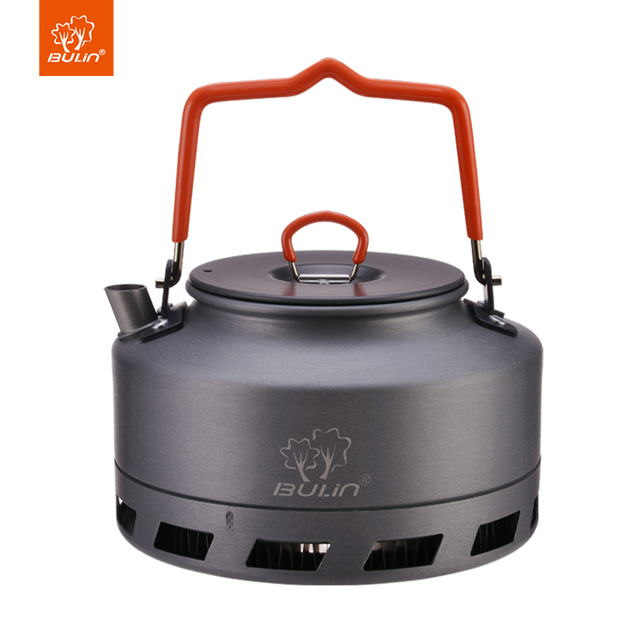 Bulin Heat Exchanger Kettle Camping Tea Pot Outdoor Kettle 1.1L BL200-L1
